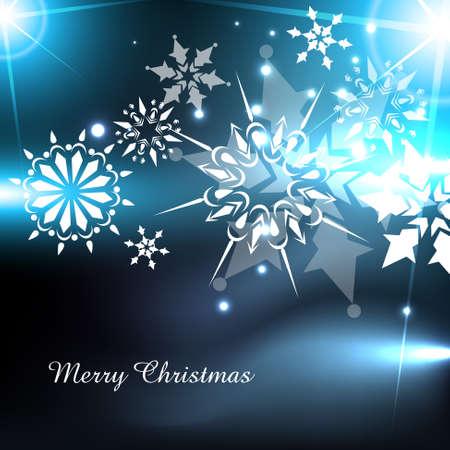 shiny winter christmas background design Stock Vector - 16790241