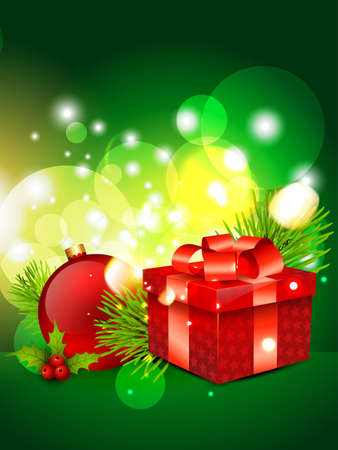 beautiful shiny merry christmas background design Vector