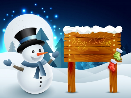 snowman 3d: vector snowman illustrator design art