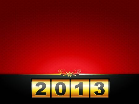vector happy new year design with space for your text Vector