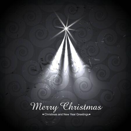 creative christmas tree design illustration Stock Vector - 16957995
