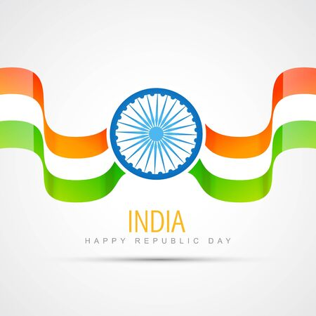15 august: indian flag design vector illustration