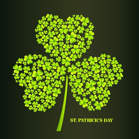 vector beautiful st patrick's day illustration Vector