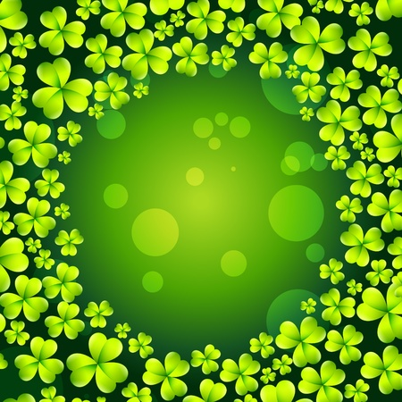 st patrick's day vector background Stock Vector - 17988038