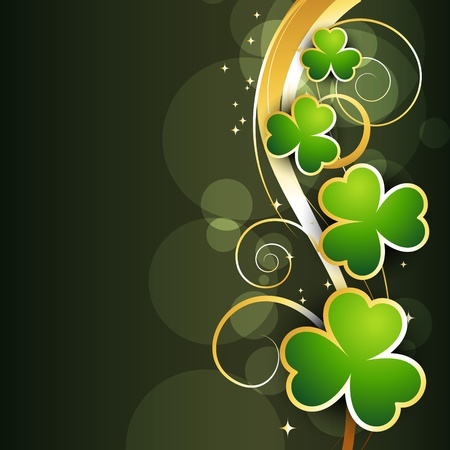 beautiful st patrick's day design illustration Stock Vector - 17988056