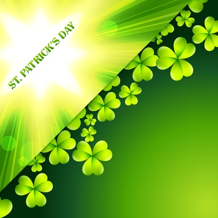 st patrick's day vector card design Stock Vector - 17988028