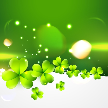 stylish st patrick's day design illustration Stock Vector - 17988117