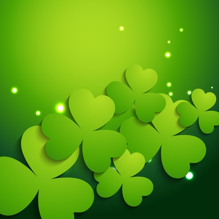 vector beautiful st patrick's day illustration Stock Vector - 17988035