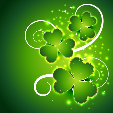vector beautiful st patricks day illustration Vector