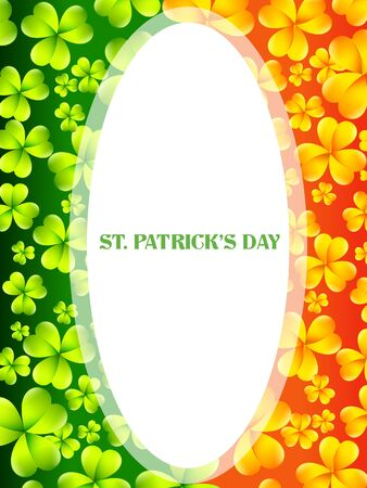 vector saint patrick's day design in flag style Stock Vector - 17988164