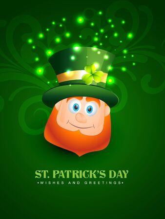 vector beautiful st patrick's day design illustration Stock Vector - 17988054