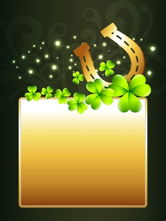 vector beautiful st patrick's day design illustration Vector
