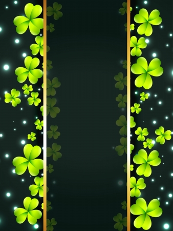 stylish st patricks day vector illustration Vector