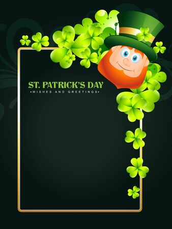 happy saint patricks day vector design Vector