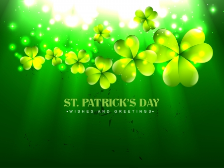 vector beautiful st patrick's day design illustration Stock Vector - 17988130