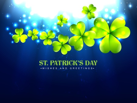 vector stylish saint patrick's day design Vector
