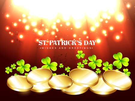 vector beautiful st patrick's day design illustration Stock Vector - 17988149