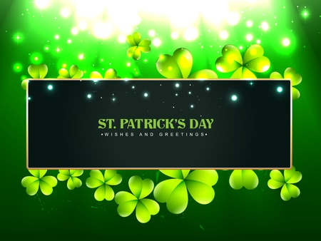 beautiful vector saint patrick's day design with space for your text Vector