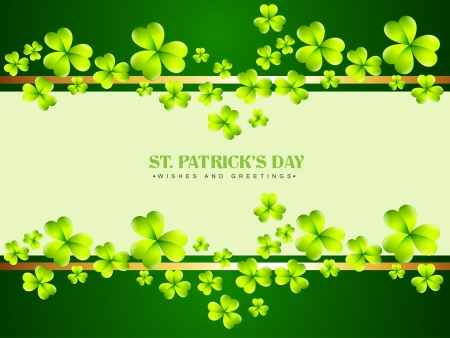 vector stylish saint patricks day design Vector