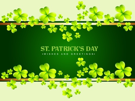saint patricks day: vector saint patricks day design illustration
