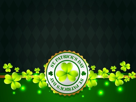 vector saint patrick's day design with space for your text Stock Vector - 17988093