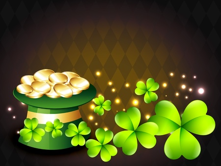 saint patricks day vector design illustration Vector