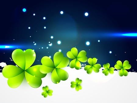 vector beautiful saint patrick's day design with space for your text Vector