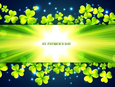 vector stylish saint patricks day design with space for your text Vector