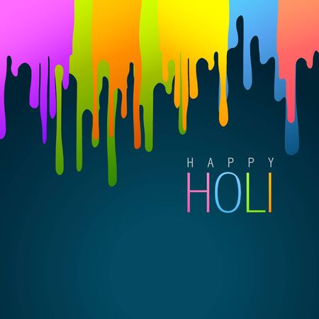 hindus: colorful holi festival vector background