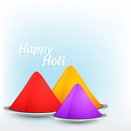 hindues: elegante colorido festival de holi con gulal
