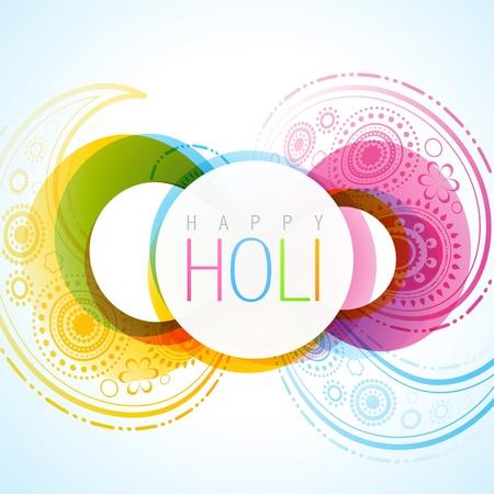 hindues: vector indian festival de holi fondo Vectores