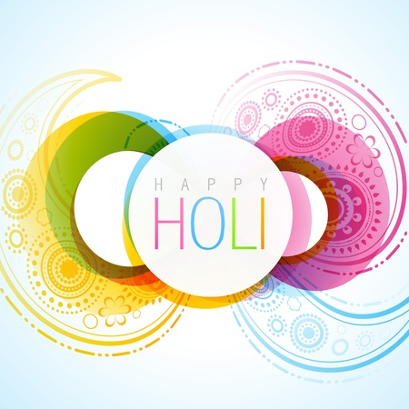 rang: vector indian festival holi background