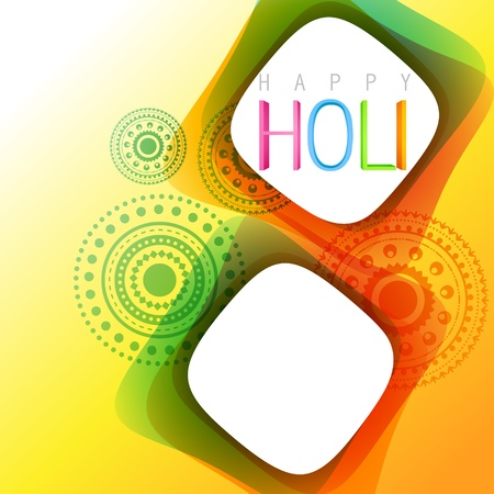 rang: vector holi festival background illustration