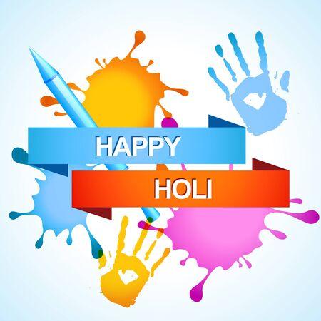 stylish colorful holi festival background Stock Vector - 18075427