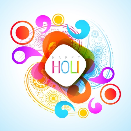 gulal: vector beautiful colorful indian holi festival background