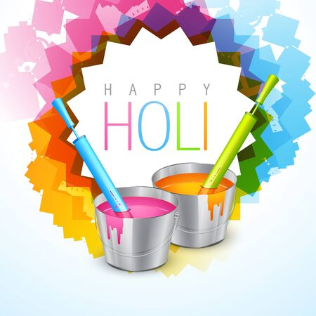 gulal: vector colorful background of indian festival holi