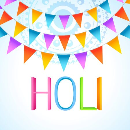 vector colorful holi festival celebration design Stock Vector - 18075436
