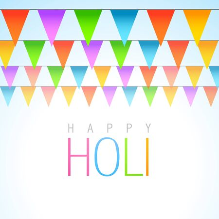 beautiful traditional holi festival vector background Stock Vector - 18075415