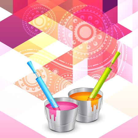 rang: beautiful background of colorful indian hindu festival holi Illustration