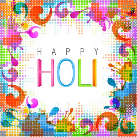 hindus: beautiful colorful indian festival holi background