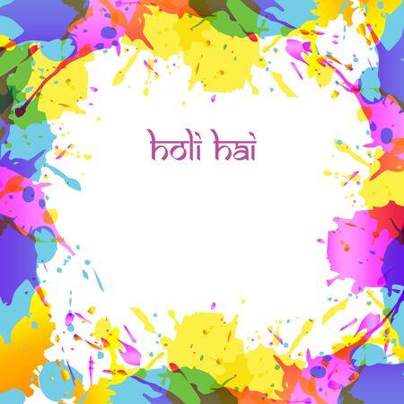 dharma: color splash background design Illustration