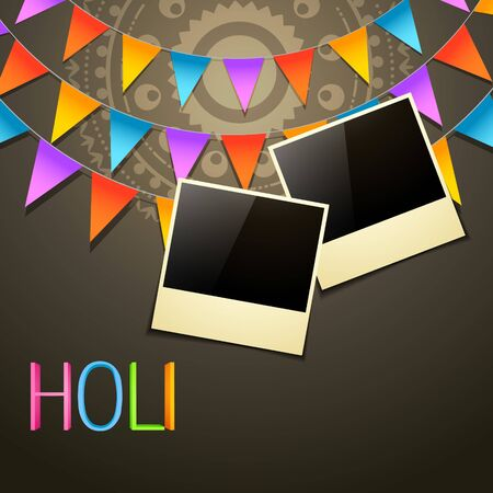holi festival background Stock Vector - 18565972