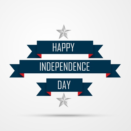 happy independence day vector background Illustration
