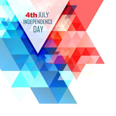 independencia: dise�o abstracto d�a de la independencia americana Vectores
