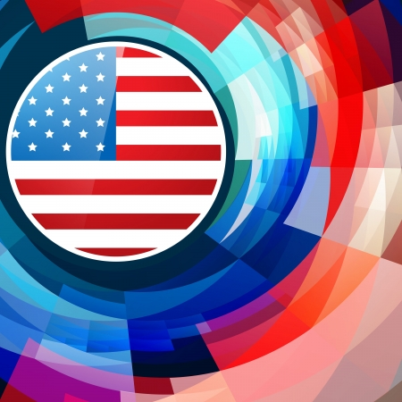 vector abstract american independence day background Stock Vector - 19978805