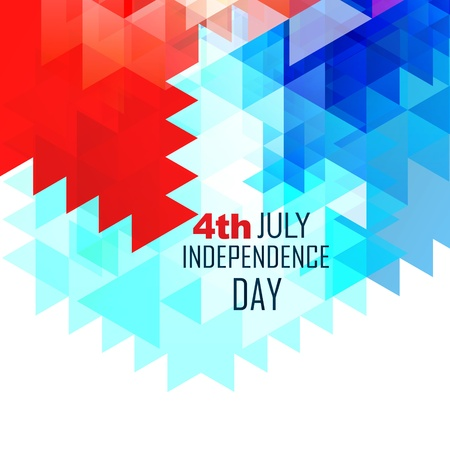 abstract american independence day vector design Stock Vector - 19978690