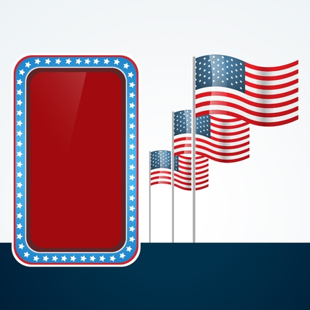 4 july: 4th of july design with space for your text