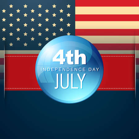 4th of july american indenedence day vector background Stock Vector - 19979464