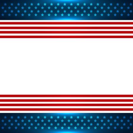Amerikaanse achtergrond design met ruimte voor uw tekst