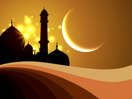 ラマダン祭ベクトル設計図